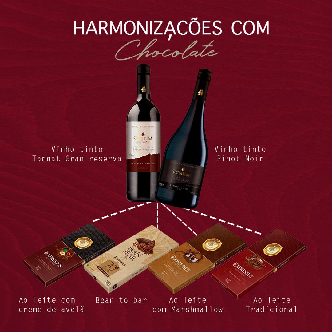 Harmonização com Chocolate