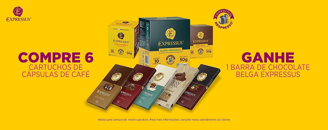 Promoção Café + Chocolate