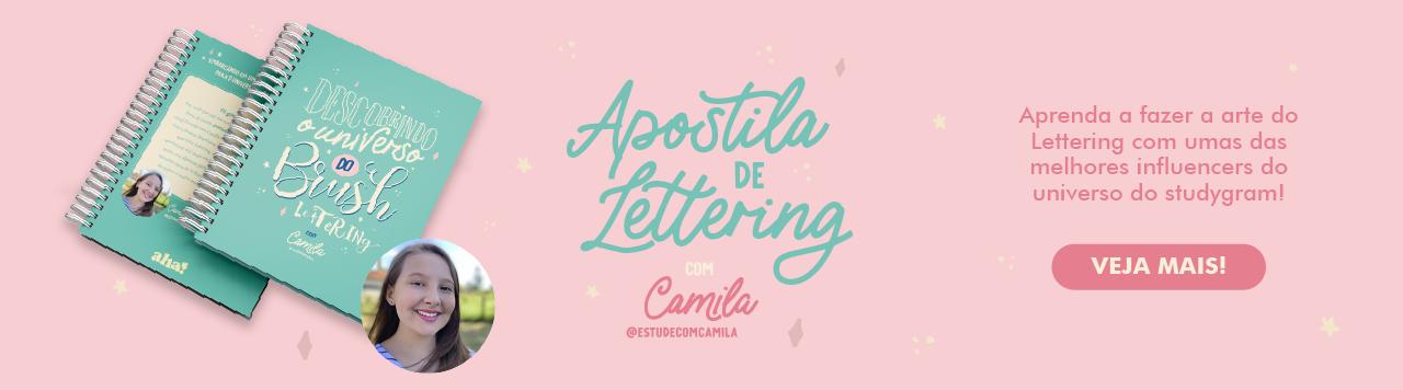 Apostila de Lettering