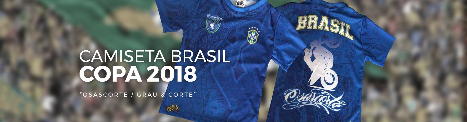 Camiseta Copa 2018