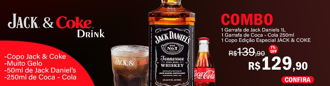 Jack & Coke + Copo Edição Especial