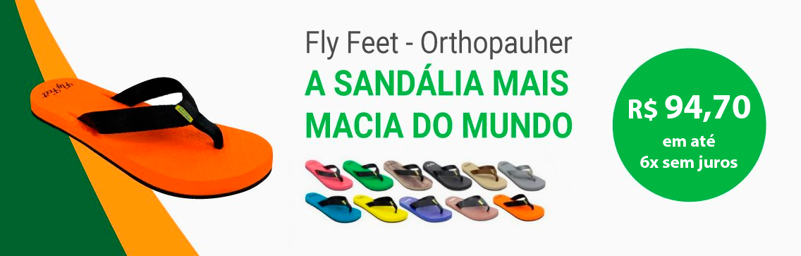 Sandália Fly Feet