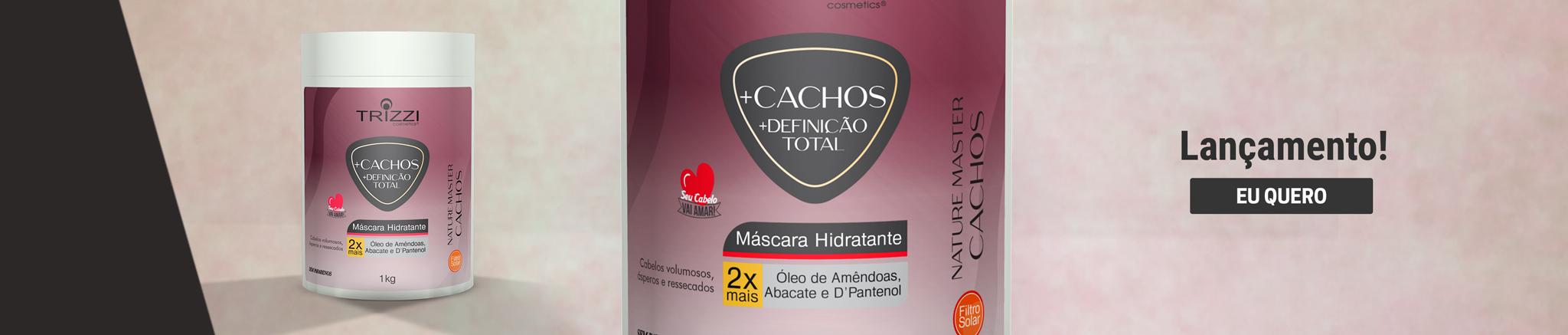 Máscara +Cachos