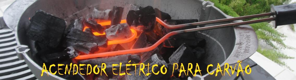 Acendedor Elétrico para carvão