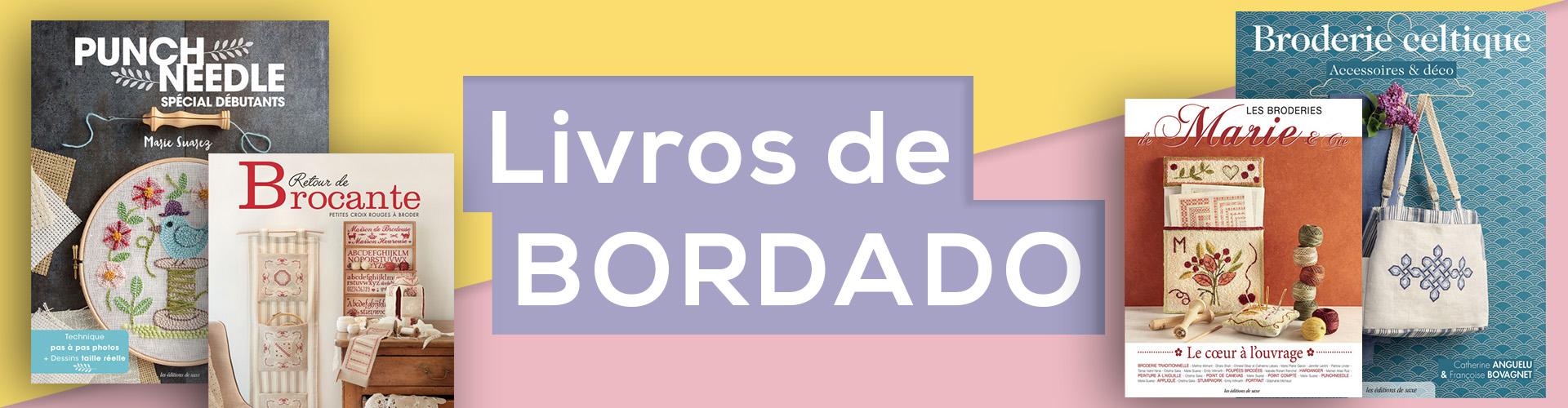 LIVROS DE BORDADO