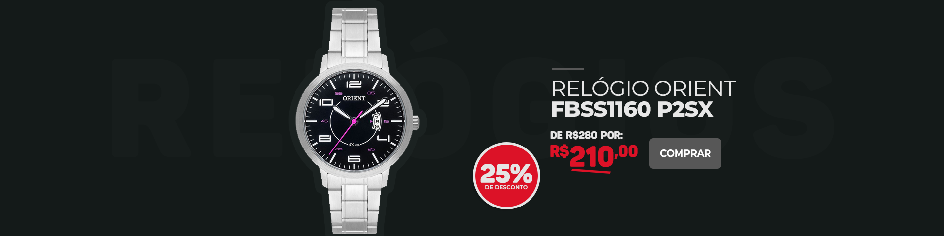 Relógio - Orient FBSS1160