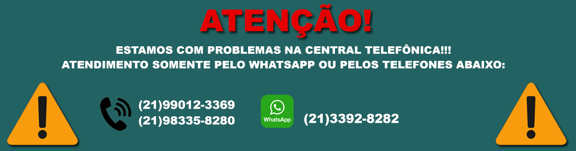 problemas na central telefonica