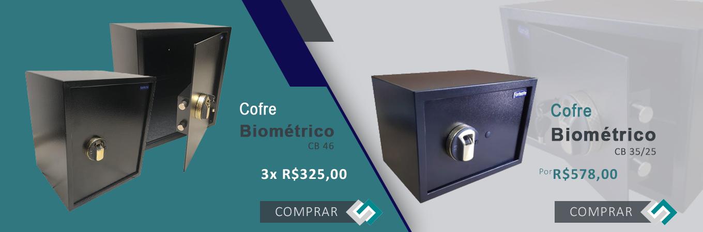 Cofre Biométrico - CB 46 /// Cofre Biométrico - CB 35/25