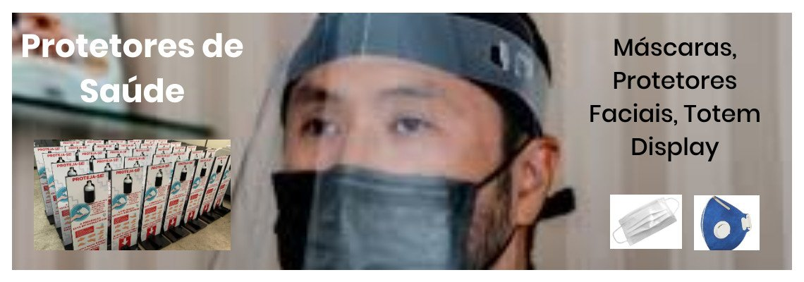 Protetor Facil - Face Shield - Transparente