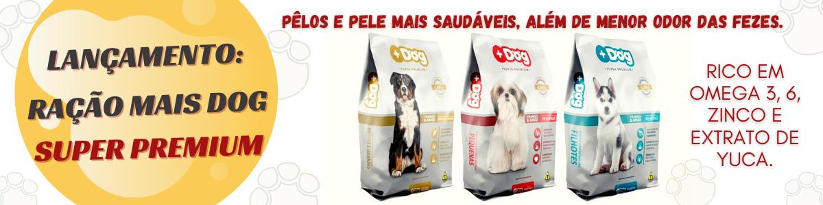 RAÇÃO SUPER PREMIUM MAIS DOG