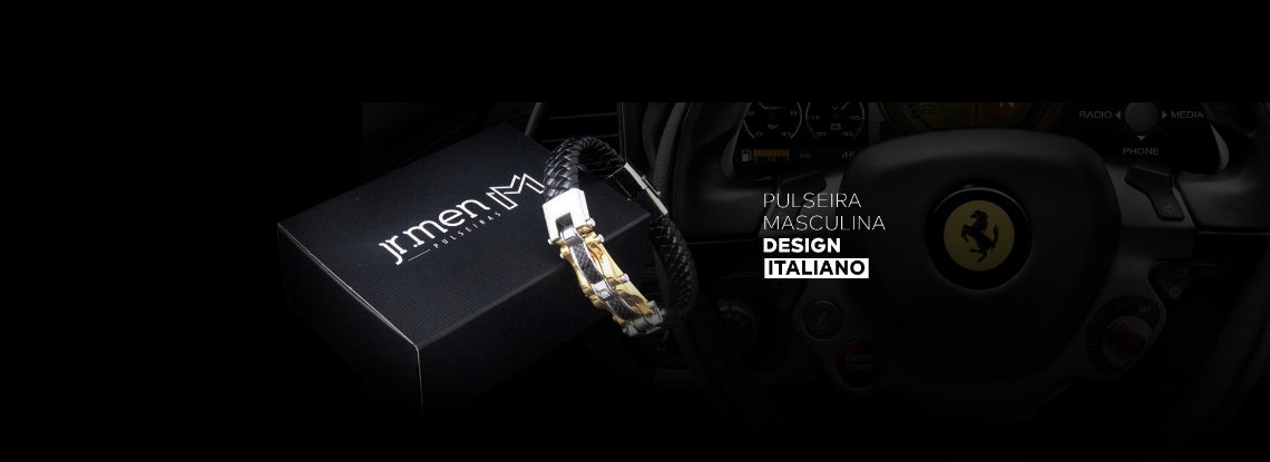 pulseira italiana couro