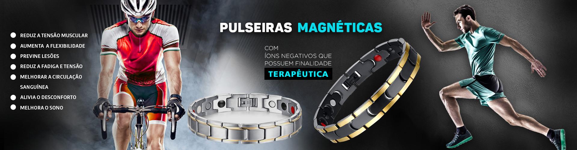 Banner pulseira magnetica  beneficios