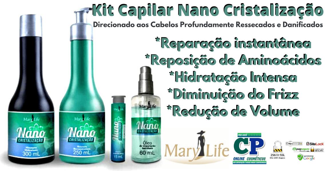 Kit Nano Cristalização - Mary Life