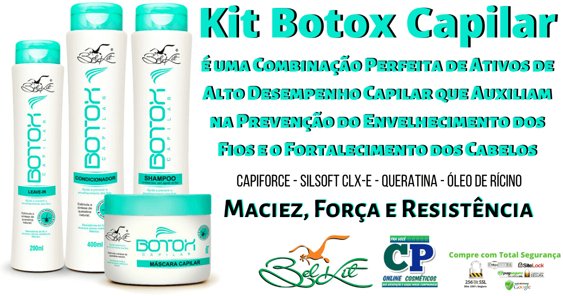 Kit Botox Capilar - Belkit