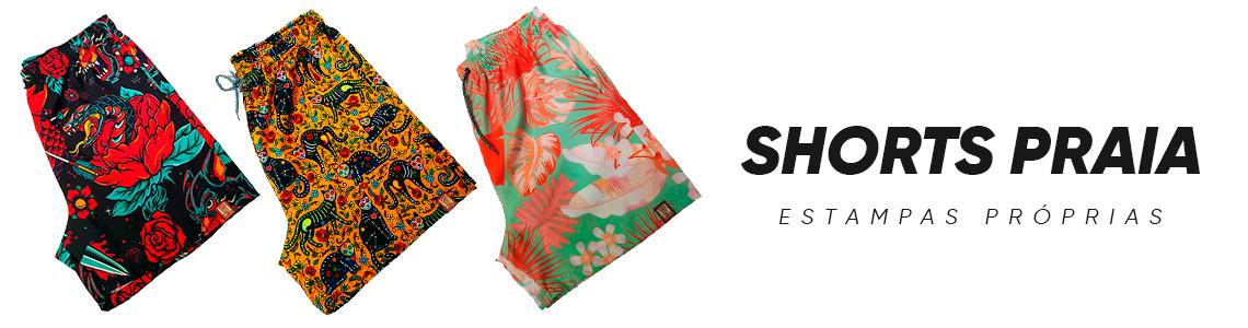 Banner Shorts Praia