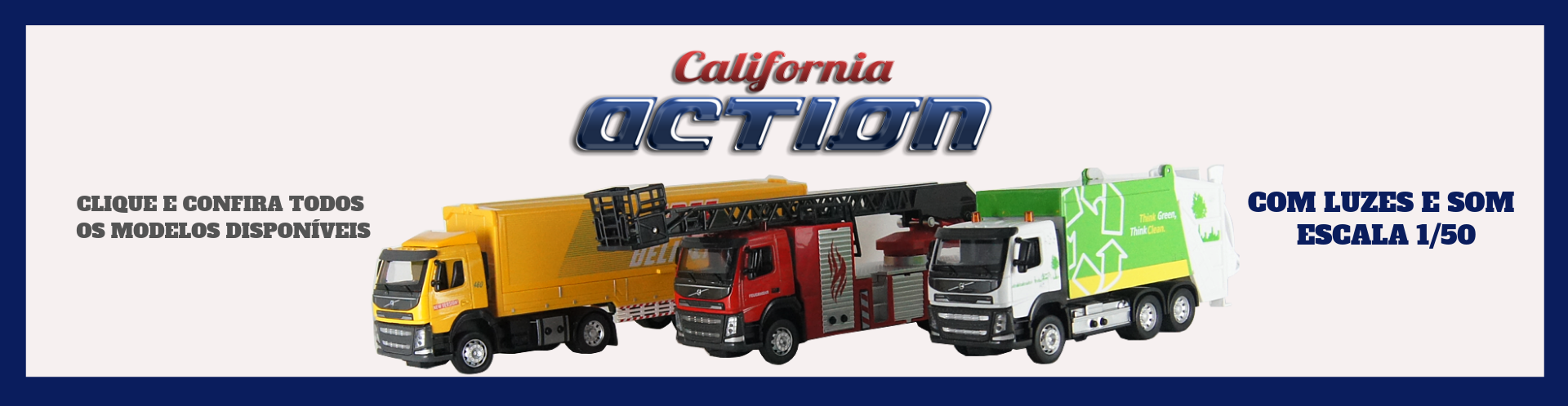 Trucks California Action 1/50