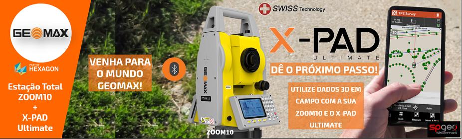 GeoMax Zoom10 + XPAD Ultimate