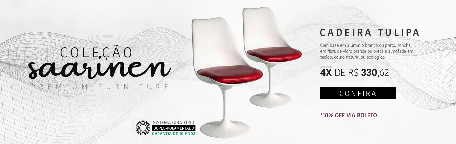 Coleção Saarinen - Tulipa sem braço