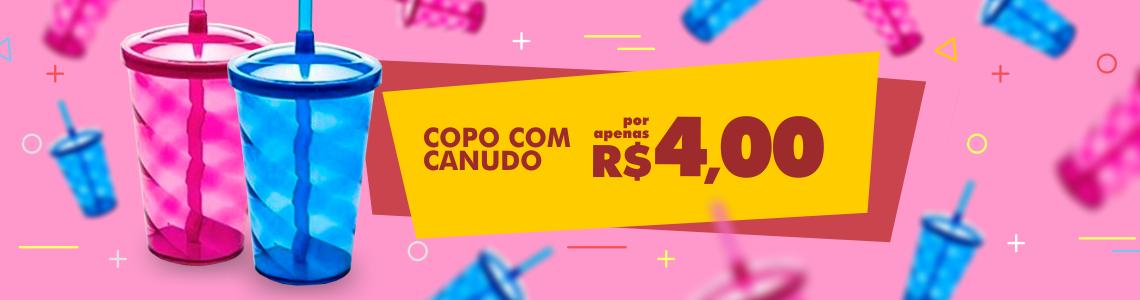 Copo c/ Canudo
