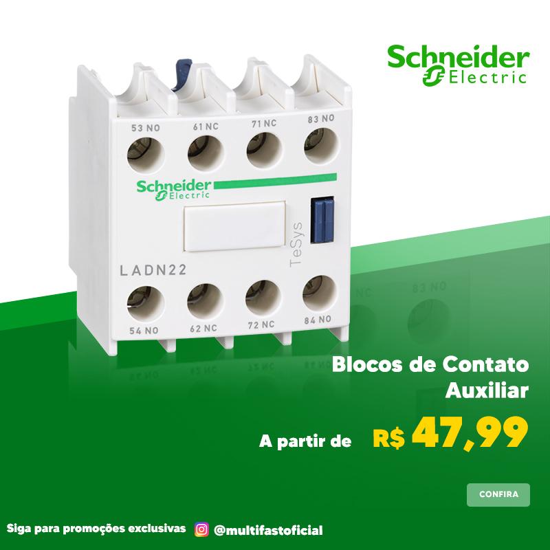 Banner Schneider Electric Bloco de Contato - Mobile