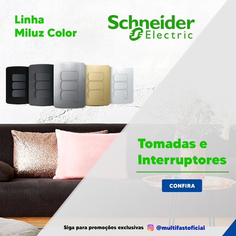 Banner Schneider Linha Miluz Color - Mobile