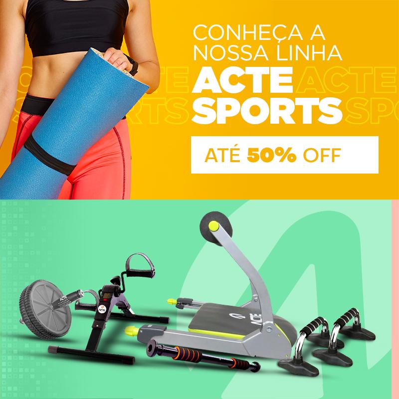 Acte Sports 50% de desconto- Mobile