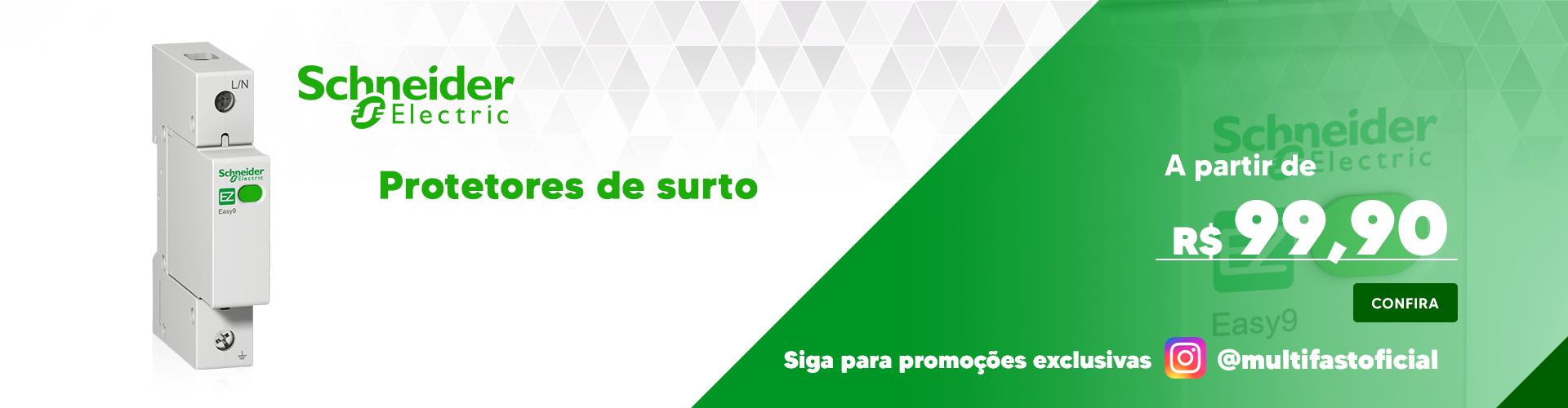 Banner Schneider Electric Protetor de Surto - Desktop