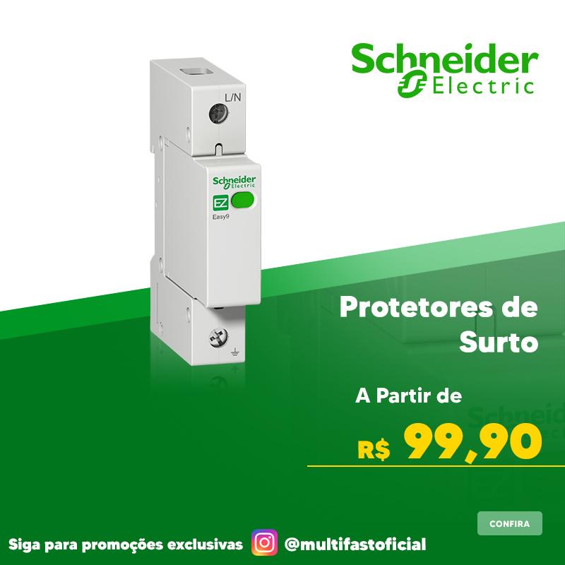 Banner Schneider Electric Protetor de Surto - Mobile