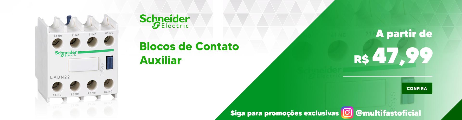 Banner Schneider Electric Bloco de Contato - Desktop