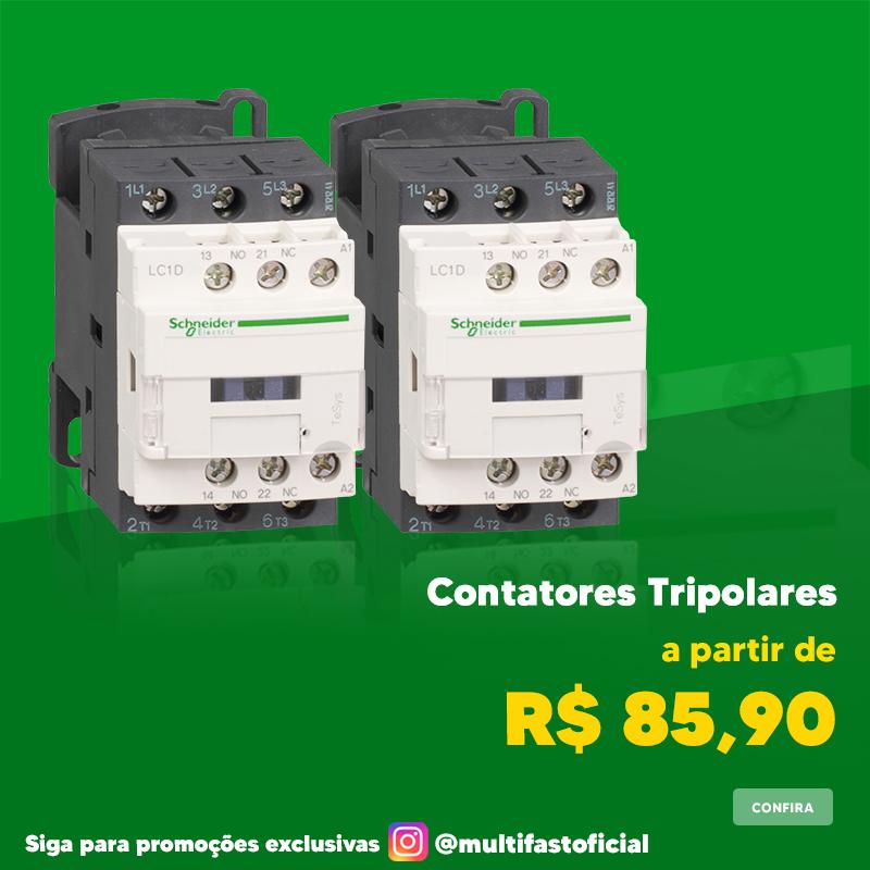 Banner Schneider Electric Contator Tripolar - Mobile