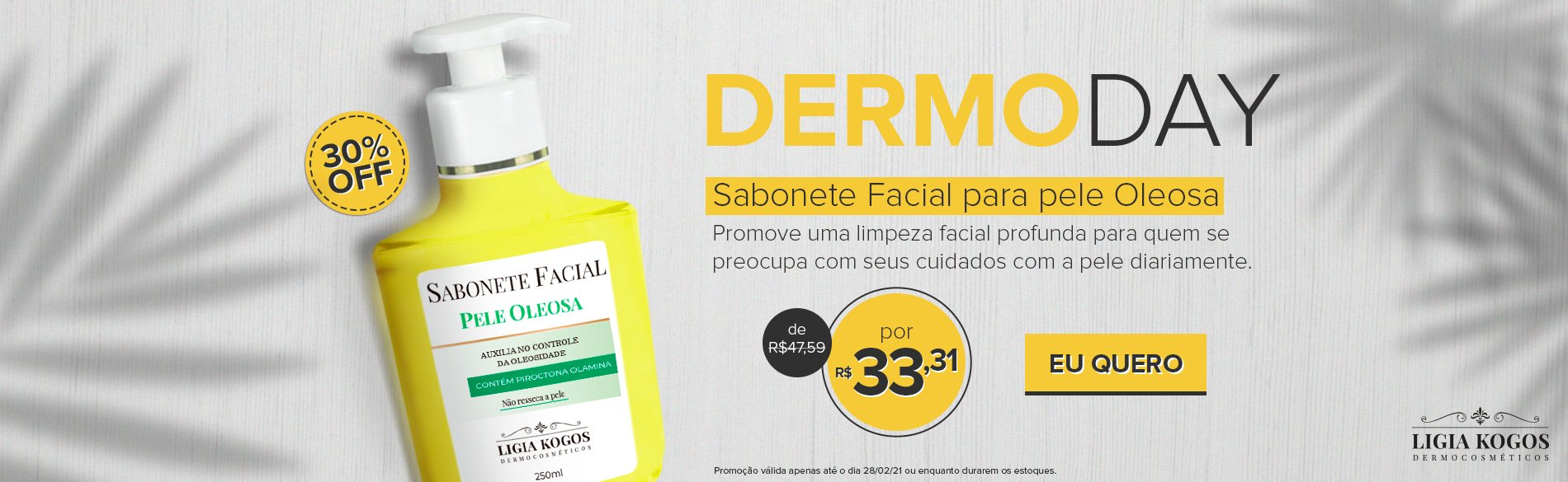 Dermo Day - Sabonete pele Oleosa