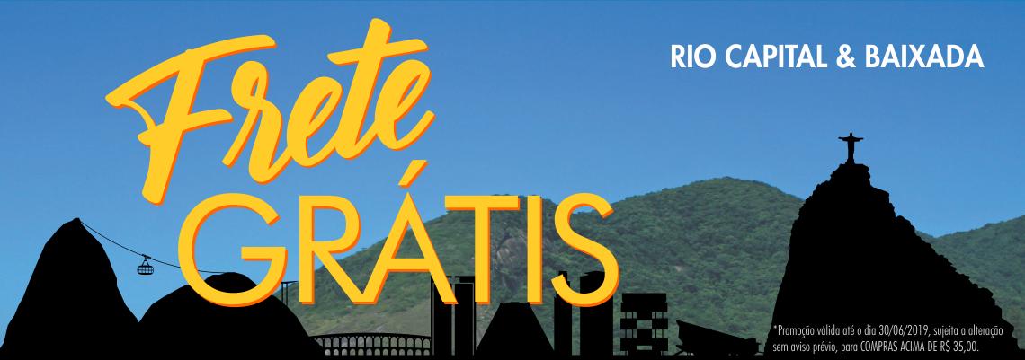 FRETE GRÁTIS RIO