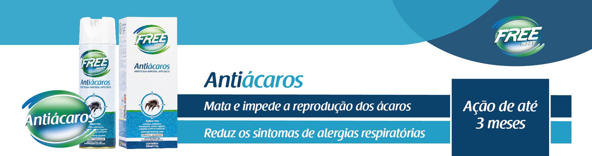 Antiácaros - Inseticida Aerosol