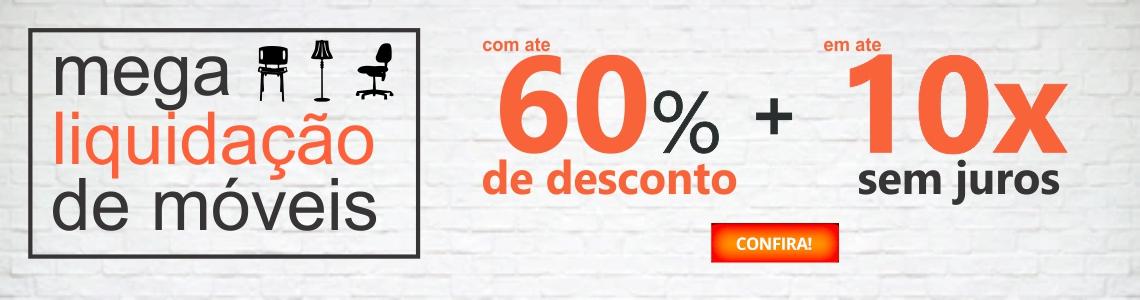 Mega Liquidação 60%