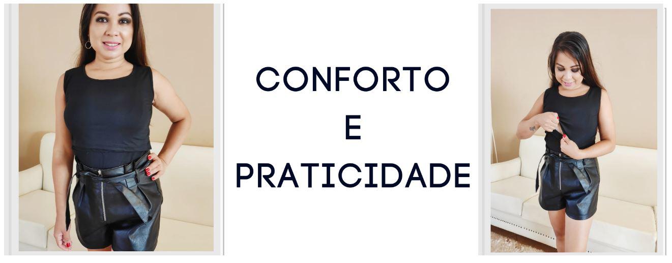 Regata Ana Conforto e Praticidade