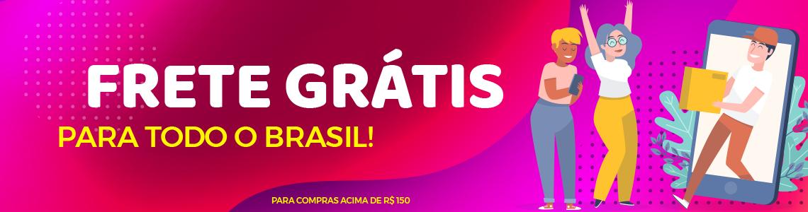Frete Grátis - Brasil
