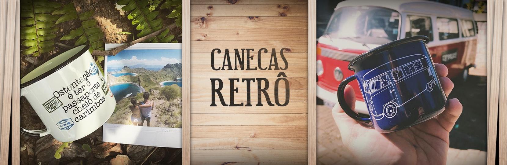 Caneca Retro