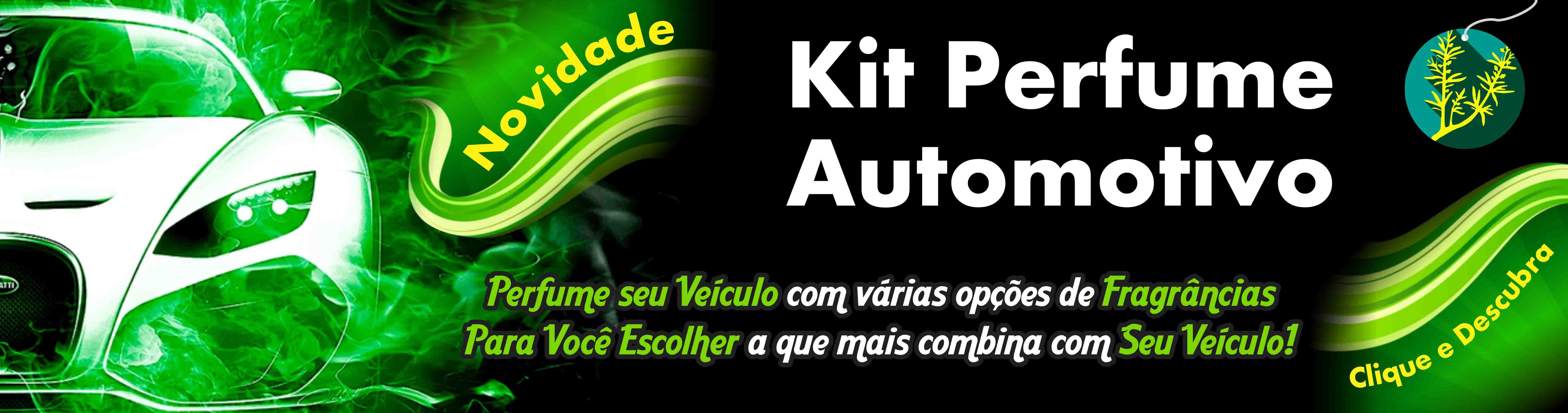 Kit Perfume Automotivo