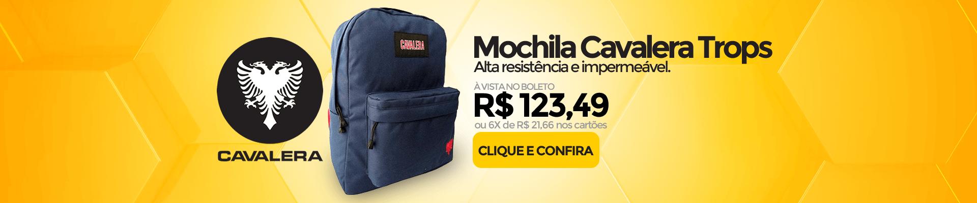 Banner Mochila Cavalera