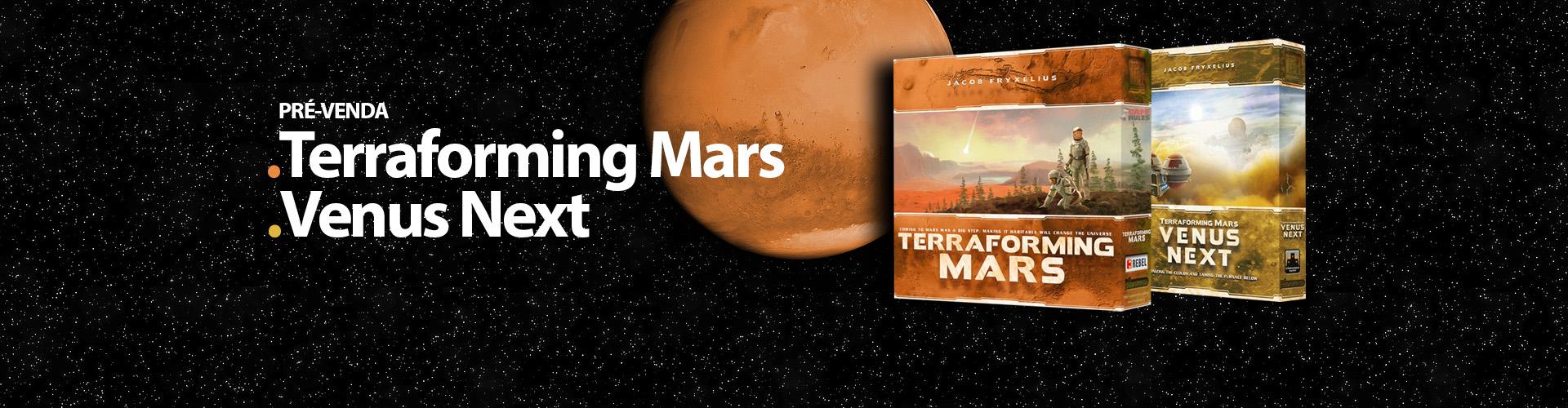 Pré-venda: Terraforming Mars e Venus Next