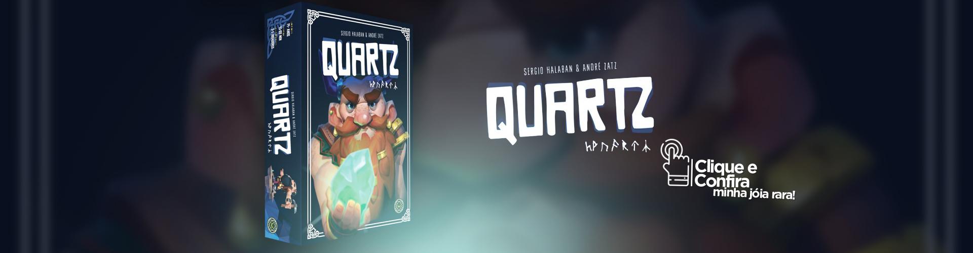 Pré-venda: Quartz