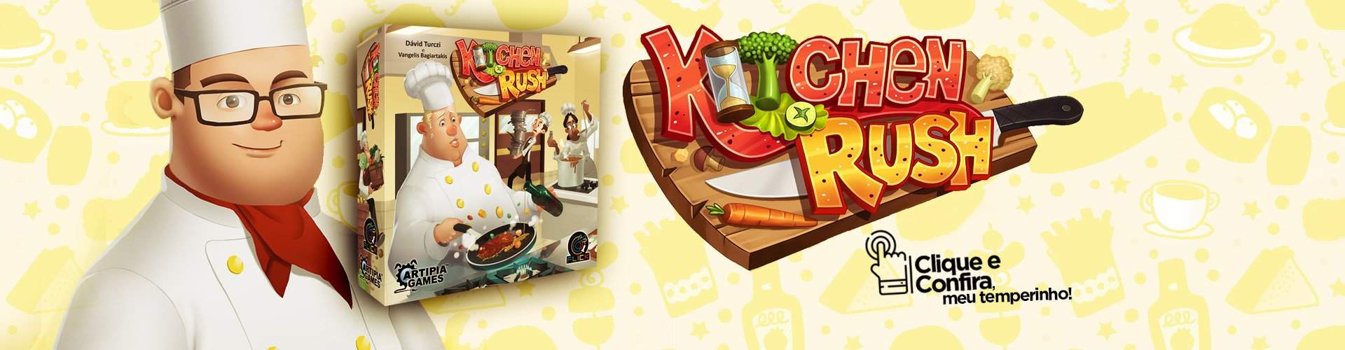 Pré-venda: Kitchen Rush
