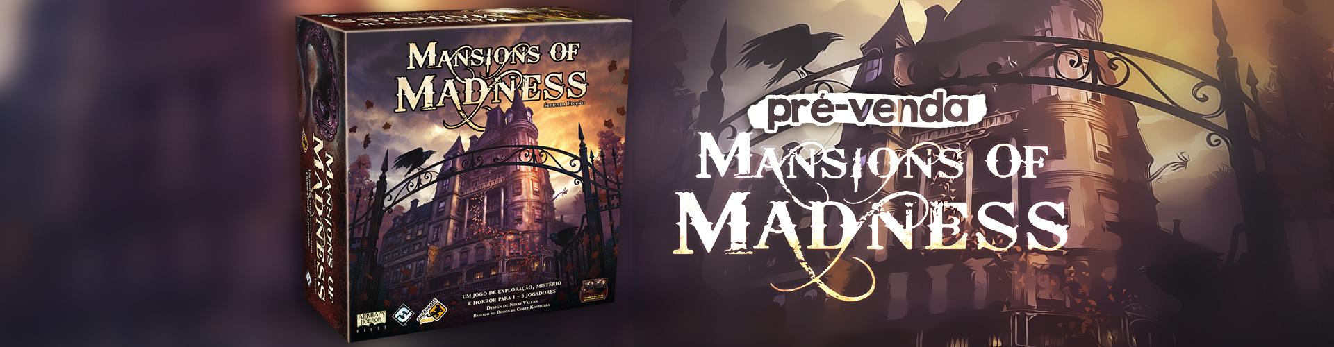 Pré-venda - Mansions of Madness