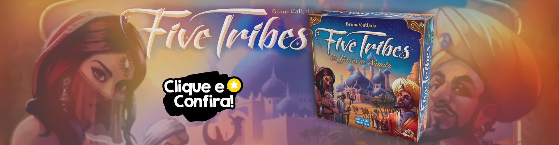 Pré-venda: Five Tribes