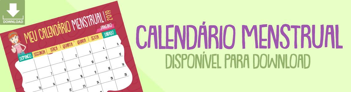 Calendario - Maria esta menstruada