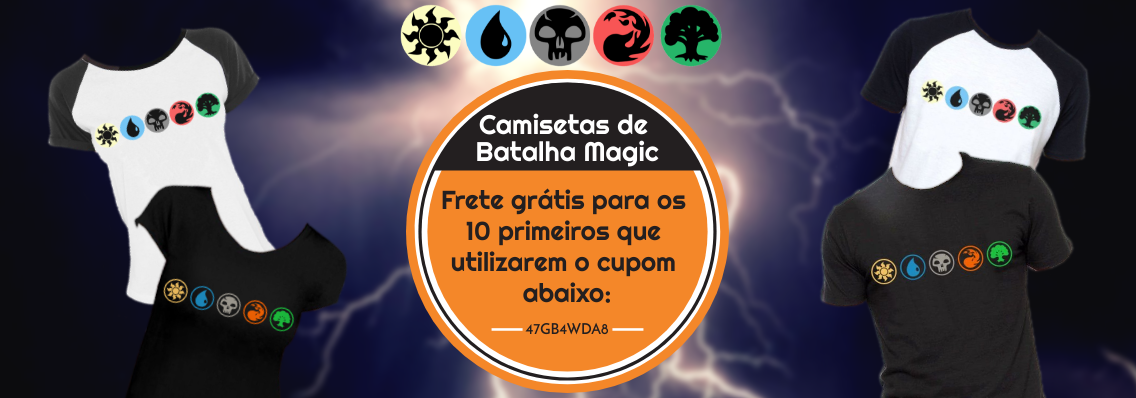 Camisetas de Batalha Magic
