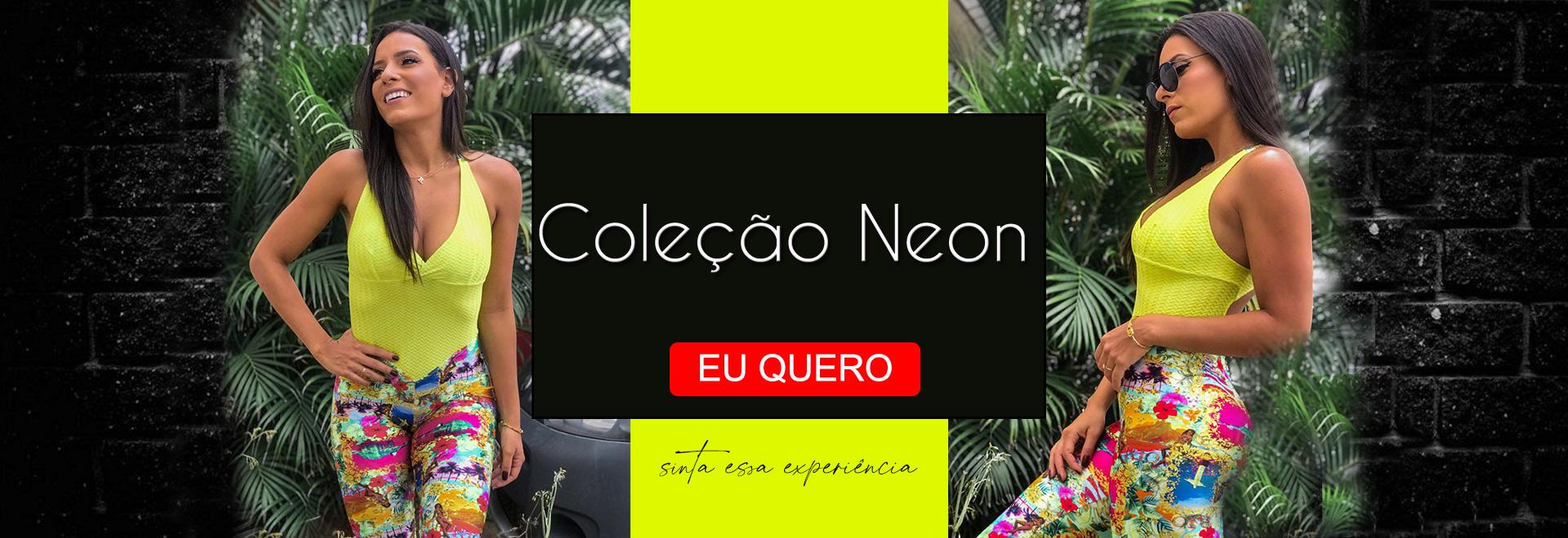 Coleção Neon Estampa Digital