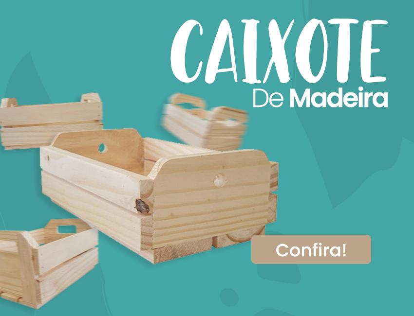 Caixote de Madeira - Mobile
