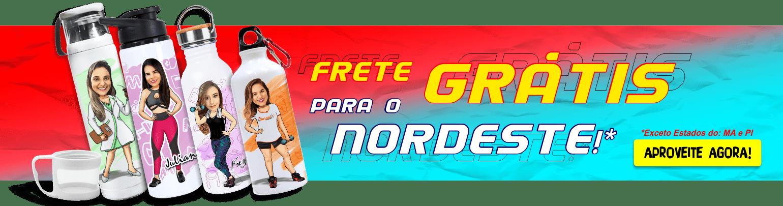 FRETE GRÁTIS NORDESTE