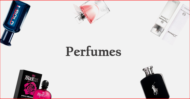 Banner Categoria Perfumes - Mobile